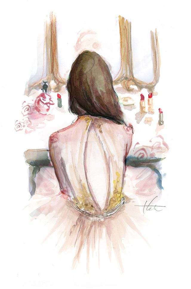 At Her Vanity by Katie Rodgers