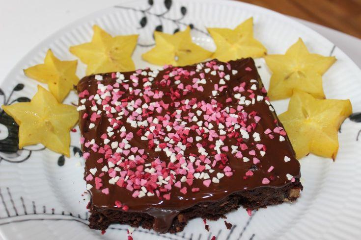 Mayadroem ~Fødselsdags brownie (glutenfri)