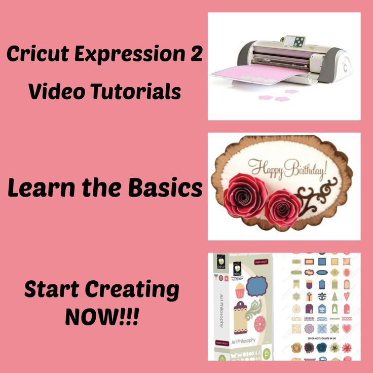 My Cricut Closet: Cricut Expression 2 Video Tutorial Series - Learn the basics of using the Cricut Expression 2