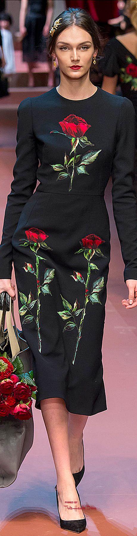 ♡Dolce & Gabbana Ready-to-Wear #MFW Fall 2015