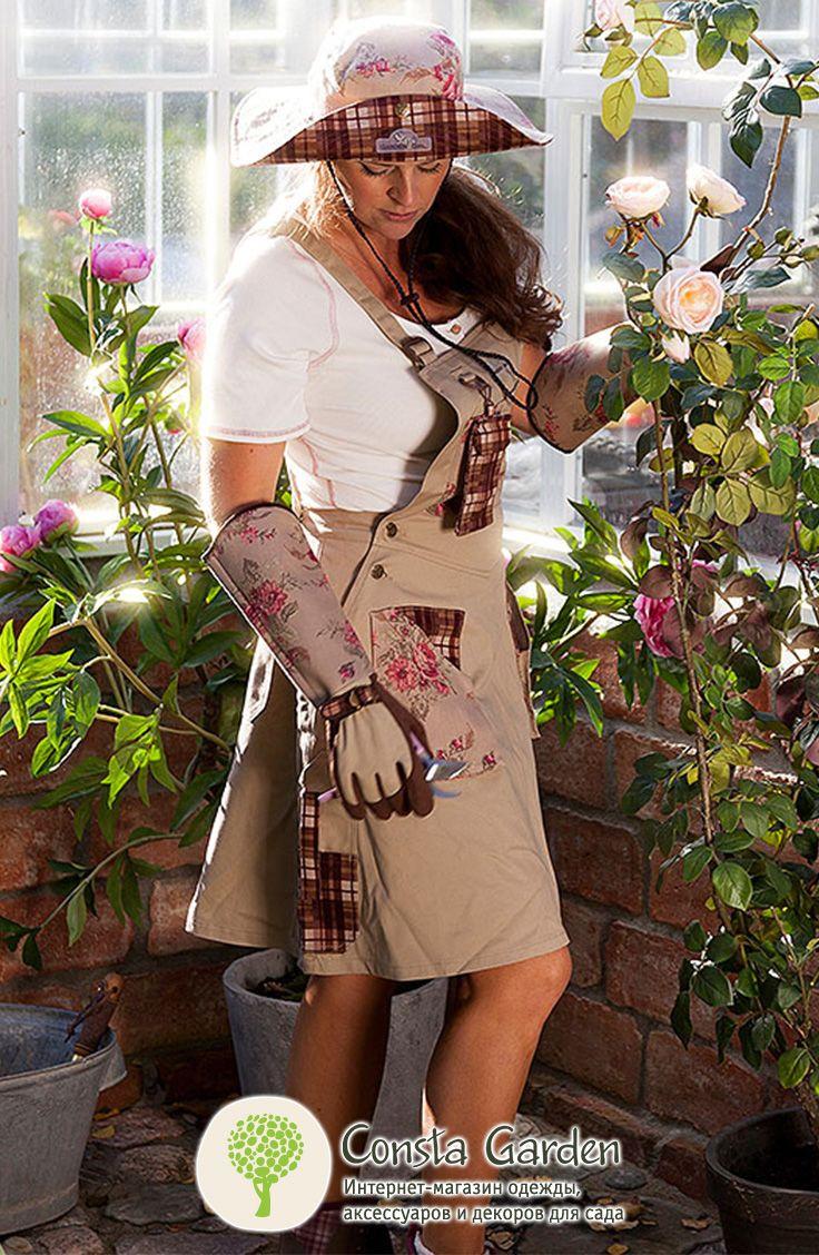Топ GardenGirl с коротким рукавом.Стильная удобная футболка топ из мягкого хлопка незаменима для работы в саду и загородного отдыха, приятна к телу и позволяет коже дышать даже в самый жаркий день.