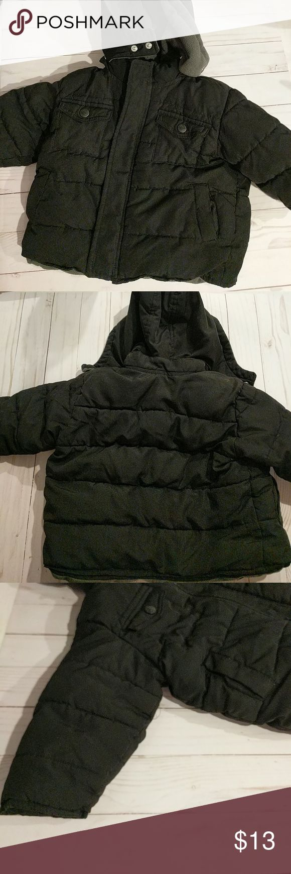 Old Navy Puffy Coat Old Navy Puffy Coat 12-18 mo GUC  N Old Navy Jackets & Coats Puffers