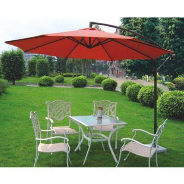 Offset Outdoor Patio Umbrellas With Base ,offset Patio Umbrellas, Offset  Umbrellas, Outdoor Offset