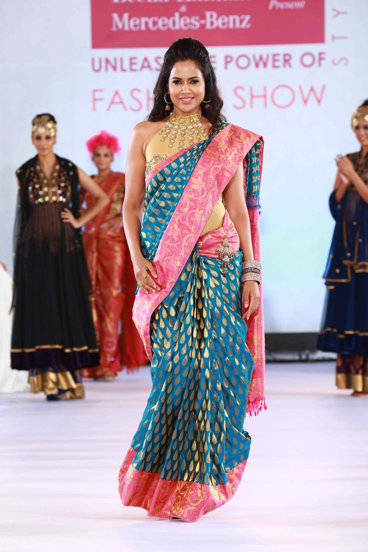Sameera Reddy - Designer fashion show by Beena Kannan & Seematti