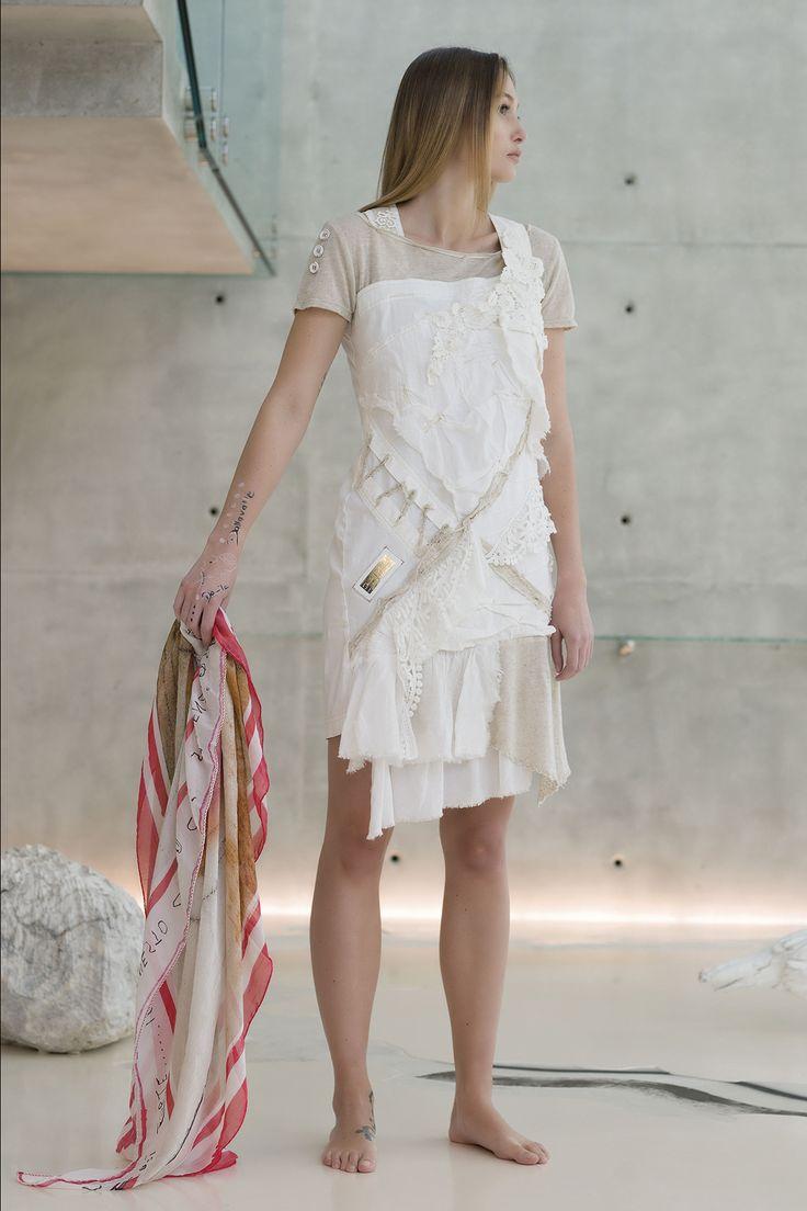DANIELA DALLAVALLE - Lookbook #danieladallavalle #elisacavaletti #kefia #foulard #dress