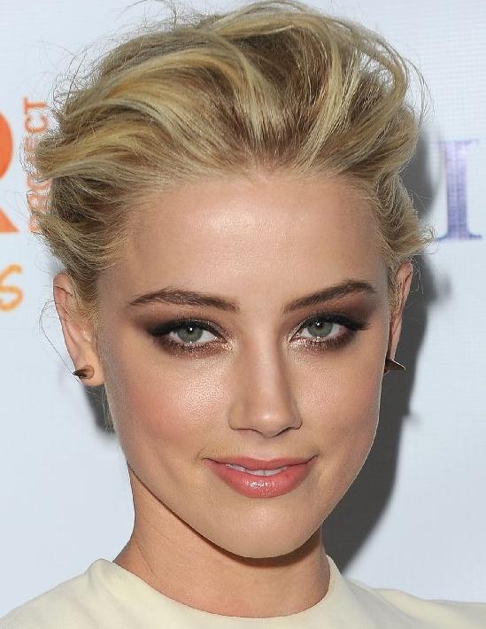 Amber Heard makeup