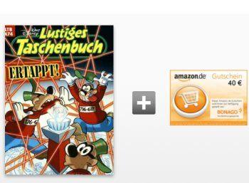 """Comic-Schnäppchen: 7 x """"Disneys lustiges Taschenbuch"""" für zusammen 5,50 Euro http://www.discountfan.de/artikel/lesen_und_probe-abos/disneys-lustiges-taschenbuch-probeabo-5-50-euro.php Sieben mal """"Disney's lustiges Taschenbuch"""" frei Haus erhalten und dafür unter dem Strich nur 5,50 Euro zahlen – das ist mit dem neuen Prämienabo von BurdaDirect möglich. 7 x """"Disney's lustiges Taschenbuch"""" für zusammen 5,50 Euro (Bild: Burda.de)"""