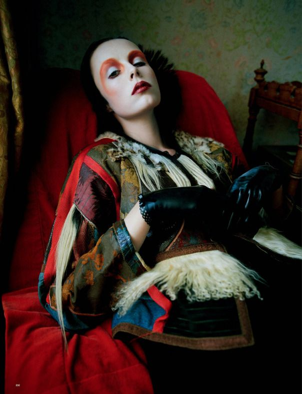 Love Magazine F/W 2014.15 | Edie Campbell, Kate Moss + More by Tim Walker