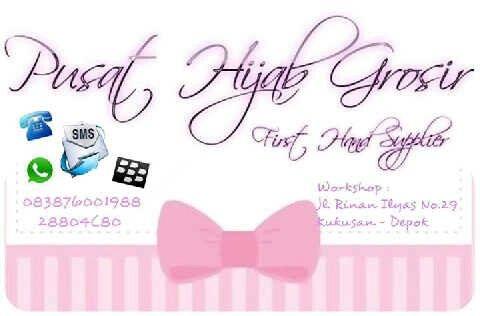 Pusat Hijab Grosir • Fanpages • Twitter • IG • www.pusathijabgrosir.com • Pin 28804C80 • SMS 081296629086 • WA 083876001988