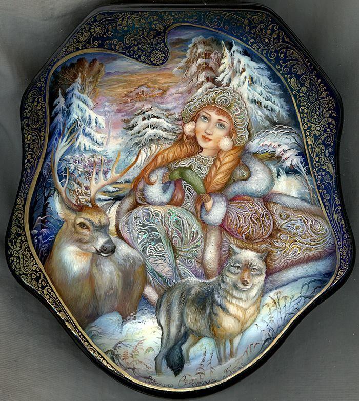 Title: Snowmaiden Artist: Bobkova Zoya