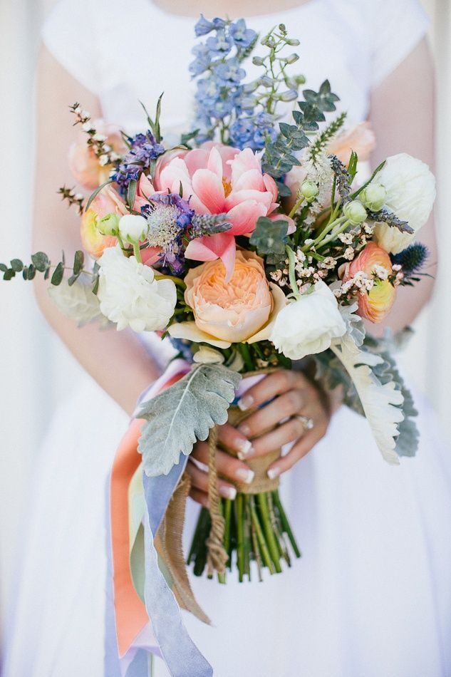 Love the colors in this bouquet! #flowers #bouquet