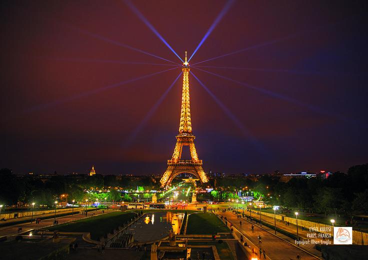 Eyfel Kulesi, Paris, Fransa. Fotoğraf: İlhan Eroğlu.
