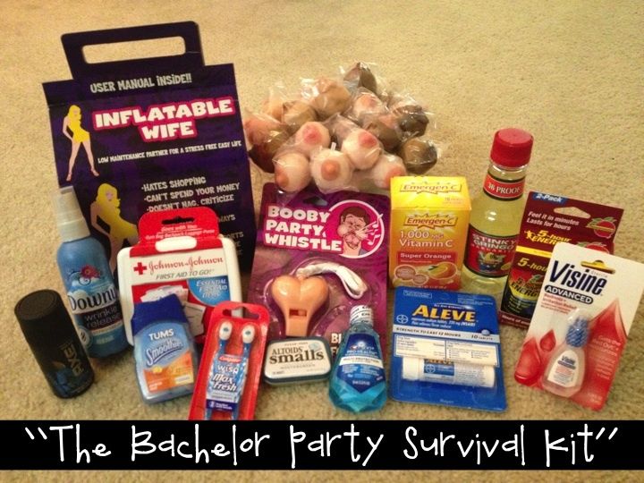 The Bachelor Party Survival Kit