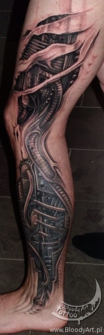 51 best biomech leg tattoos images on pinterest incredible tattoos tattoo ideas and amazing. Black Bedroom Furniture Sets. Home Design Ideas