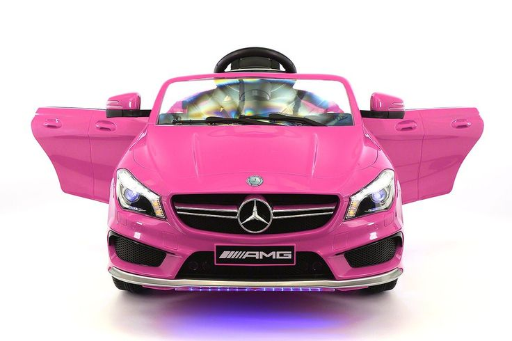 2017 Licensed Mercedes CLA45 AMG 12-Volt Power Children's Ride On Car Battery Powered Wheels with Parental Remote Features Listed Below: - Suitable for Boys or Girls 2-5 Years Old (Or Younger, Under S
