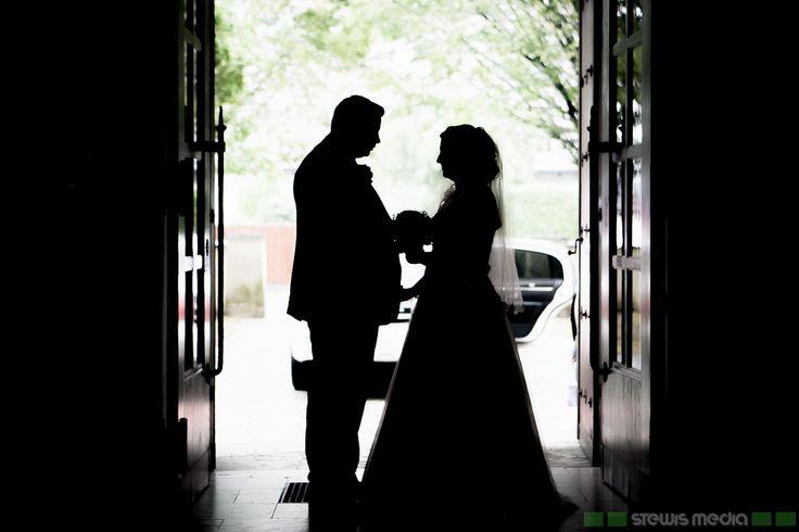 Romantische Momente nach der Trauung!