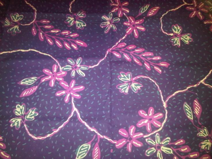 Batik tulis motif