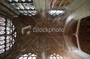 Gloucester Cathedral ceiling