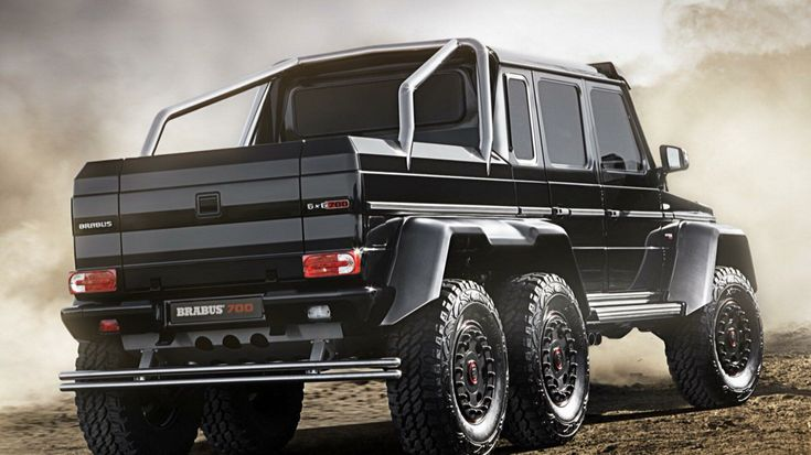 Brabus g700 6x6 dream car pinterest ford for Camioneta mercedes benz