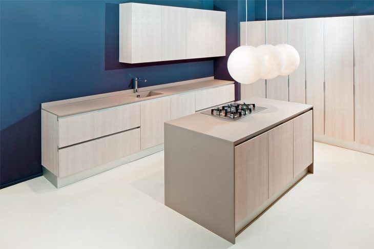 "Quartzforms """"qf beige"" kitchen countertop"