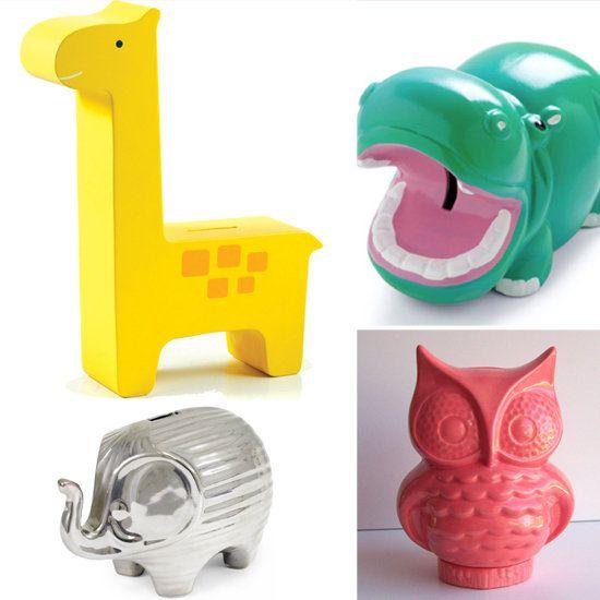 Modern Piggy Banks For Kids