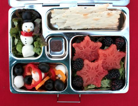 Creative Holiday lunch Ideas with Planet Box