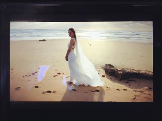 Day Three. Part - ||| • Ocean Beach film photo Qlix Photography model @apparitioneyes_ dress & accessories @victoriaspirina #beach #ocean #sand #wave #bridalgown #bridaldress #whitedress #beachweddingdress #beachwedding #silk #shell #photo #photooftheday #film #filmphotography