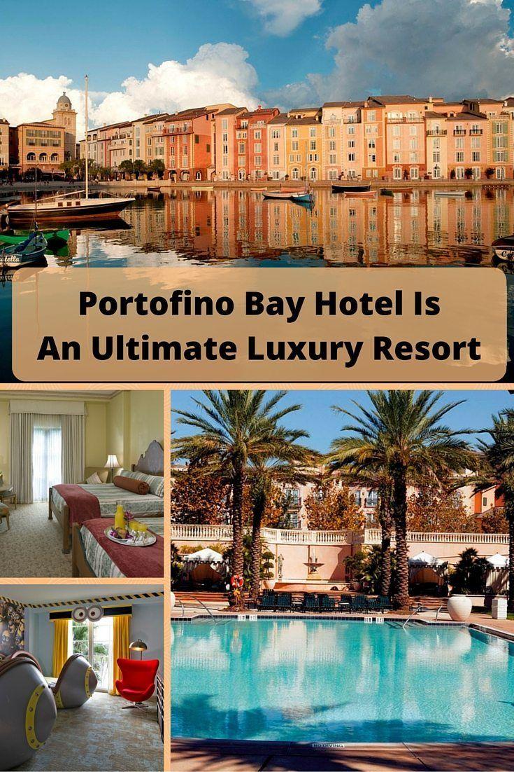 Portofino Bay Hotel Is An Ultimate Luxury Resort Universal Studio Orlando Hotels Portofino Bay Hotel Universal Studios Hotels