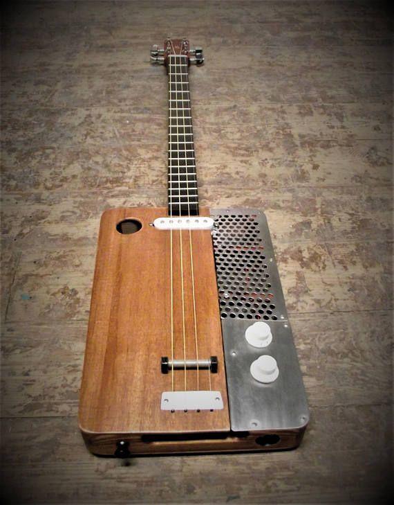 Humbucker Double Coil Pickup Maple Für 3 Saiten Zigarrenschachtel Gitarre