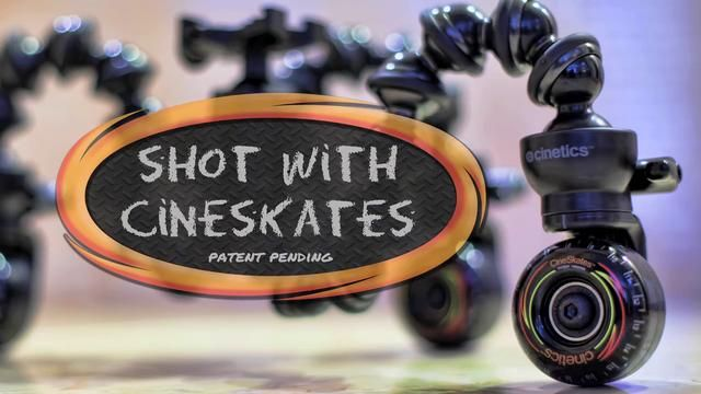 CineSkates Camera Sliders by Cinetics. Our Kickstarter project was phenomenal. What an amazing way to get feedback!