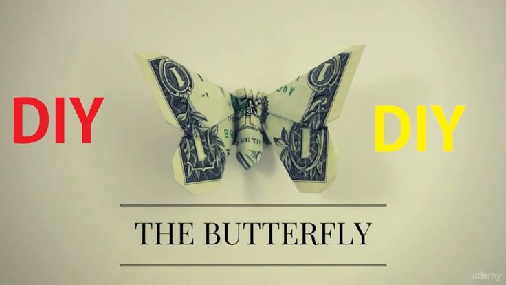How to Make Dollar Origami Butterfly ||  Dollar Origami Butterfly instru...