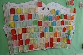 murales escolares para el dia del libro - Buscar con Google