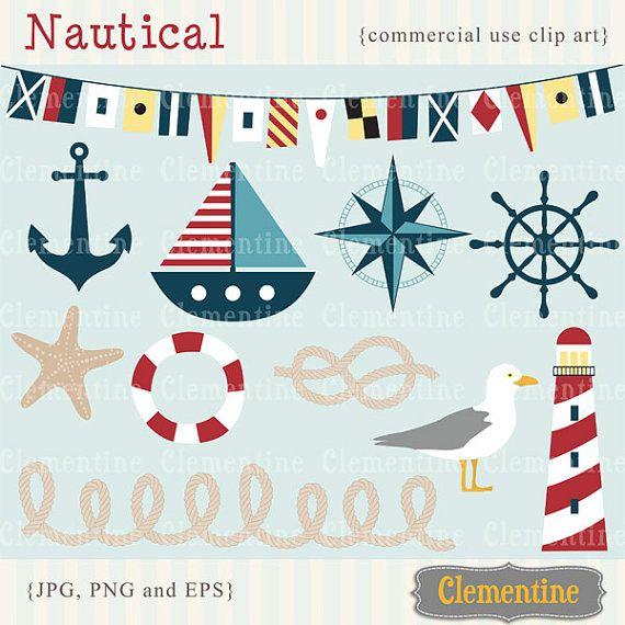 Nautische ClipArt-Grafiken nautische Clipart nautische