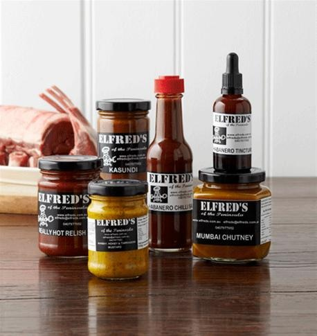 Xmas Gourmet BBQ Pack This delightful hamper from Elfreds adds all the spice you need for your xmas table and summer BBQ's.