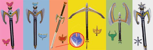 Arsenal (Weapons - Gear) - Power Rangers Mystic Force | Power Rangers Central