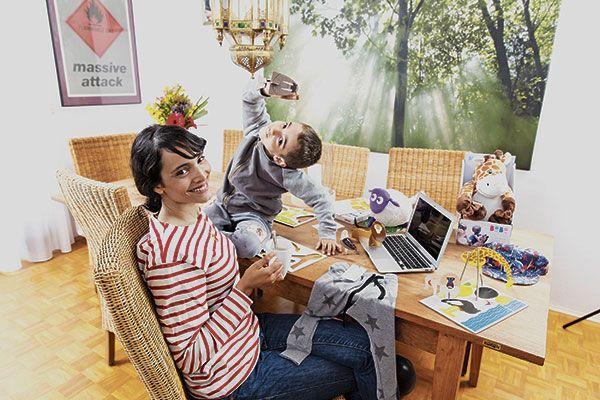 Start-up: Mama arbeitet von zu Hause aus - Coopzeitung - Die grösste Wochenzeitung der Schweiz