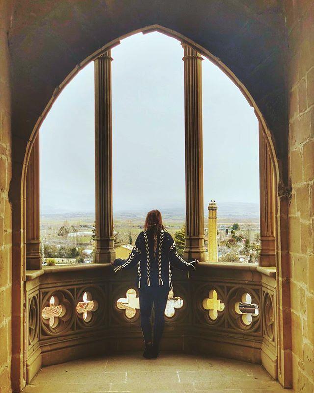 ¿Por qué será que el Palacio-Castillo Real de Olite es el monumento más visitado de #Navarra?  (Foto: @veraairnost / Instagram)