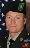 Army Sgt. 1st Class Duane A. Thornsbury  Died September 12, 2009 Serving During Operation Iraqi Freedom  30, of Bridgeport, W. Va.; assigned to the 2nd Battalion, 10th Special Forces Group, Fort Carson, Colo.; died Sept.12 in Baghdad of injuries sustained during a vehicle rollover.