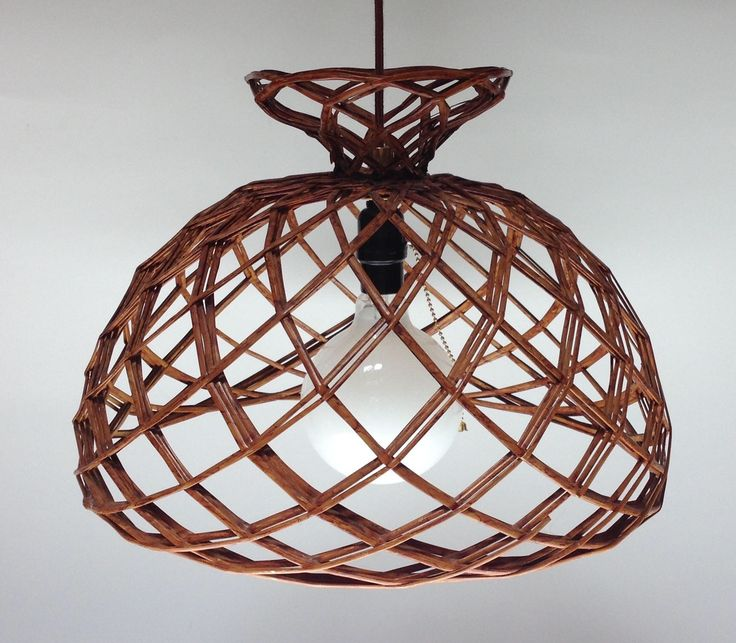 Wicker Rattan Pendant Light  Hanging Light by LampShadeDesigns on Etsy https://www.etsy.com/listing/534179281/wicker-rattan-pendant-light-hanging
