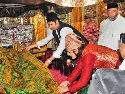 Rajat Tokas visited holy shrine!