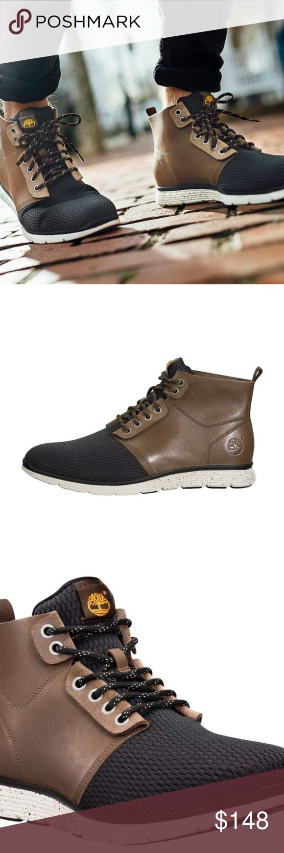 NEW TIMBERLAND Killington Brown Leather Chukka 11 NEW TIMBERLAND Killington Brown Leather Chukka 11, which is 45 UK This colorway is sold out so we are asking slightly less than the $175 on amazon. Timberland Shoes Chukka Boots