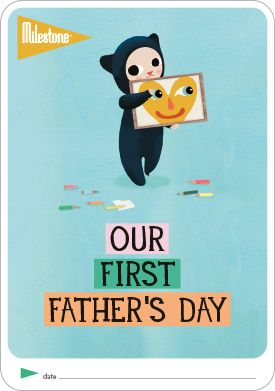DOWNLOAD FOR FREE: Our First Father's Day Card for your Twins!! http://www.milestone-world.com/en/free-printables/2016/05/our-first-fathers-day/143  #milestonebaby #fathersday #babygift #freegift