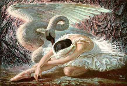 tretchikoff - the dying swan
