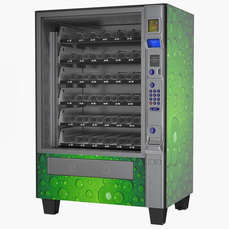 Vending Machine 3 3D Model 3D Model AD ,VendingMachine