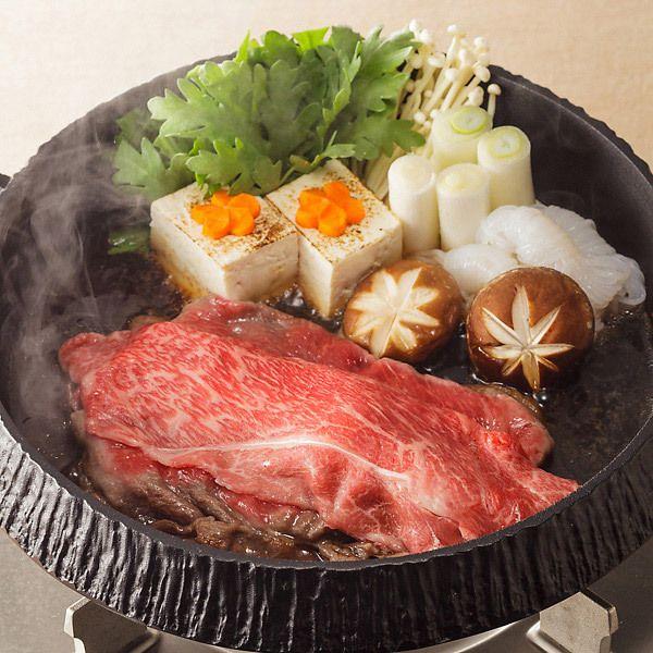 [ご当地グルメ:兵庫]日本三大和牛「神戸牛」を、すき焼・しゃぶしゃぶで。【神戸牛肩すき焼・しゃぶしゃぶ用400g】