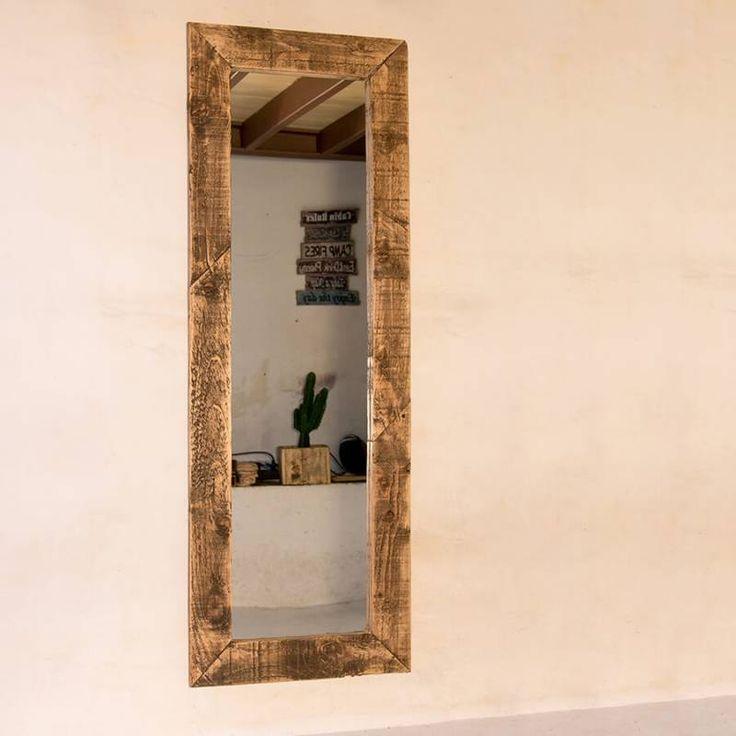 Mejores 7 im genes de espejos madera reciclada en pinterest for Espejos rectangulares horizontales