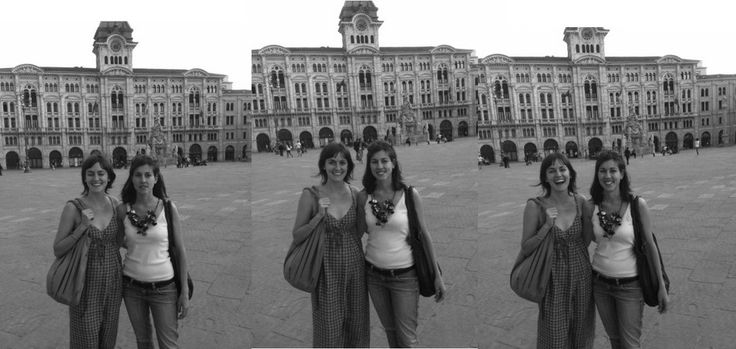 The Gwelly's Team in Trieste, Italy. A sisters' passion about design and fashion, as long as different and a bit special