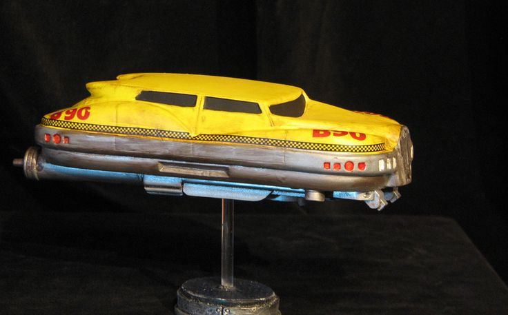 Resin Taxi Model - The Fifth Element.