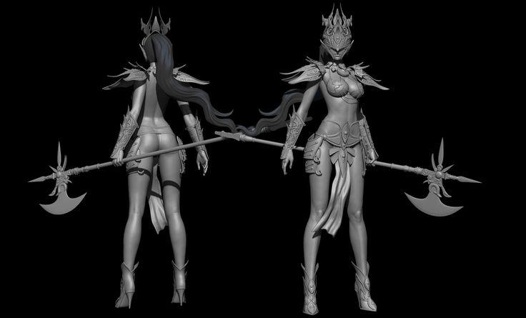 ArtStation - Hua Yan Wu Dao, Doom Lord