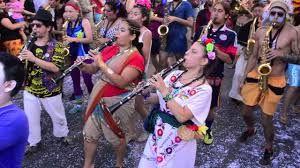 Fiesta del Roto Chileno en Barrio Yungay. Santiago de Chile